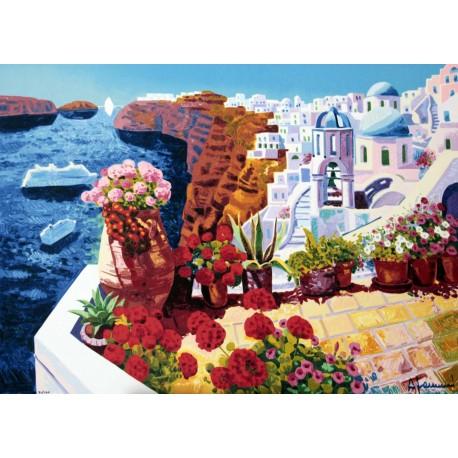 """""""Un sogno di luce intorno a Santorini"""""""