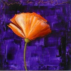 Flower 12 Serigrafia 50x50